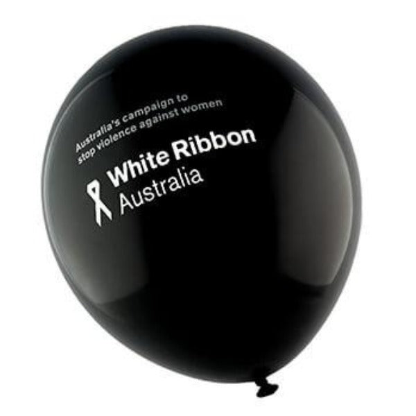 White Ribbon Balloons (x20)