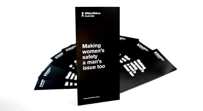 White Ribbon Brochures (x20)