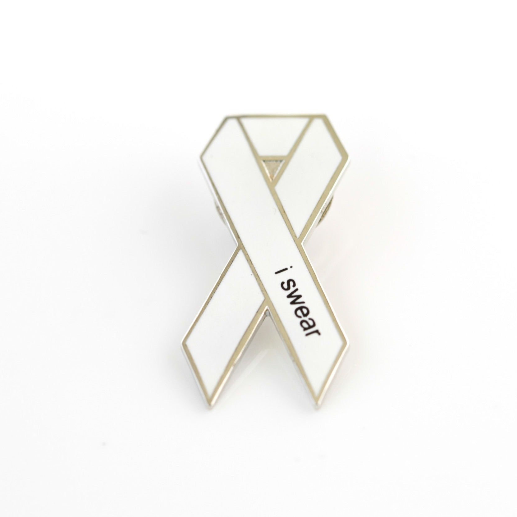 Enamel Pin - double backing
