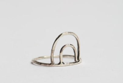 Double Arc Ring