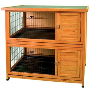 Double Decker Premium Plus Rabbit Hutch