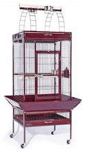 Chalk White Large Select Wrought Iron Play Top Bird Cage