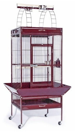 Coco BrownLarge Select Wrought Iron Play Top Bird Cage