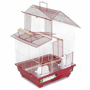 Red House Style Bird Cage