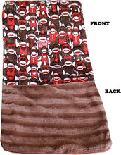 Luxurious Plush Carrier Blanket Funky Monkey