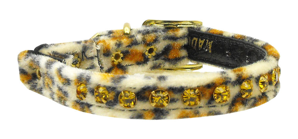 Animal Print Cat Safety Collar