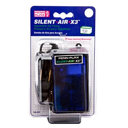 Silent 30 gallon Aquarium Air Pump