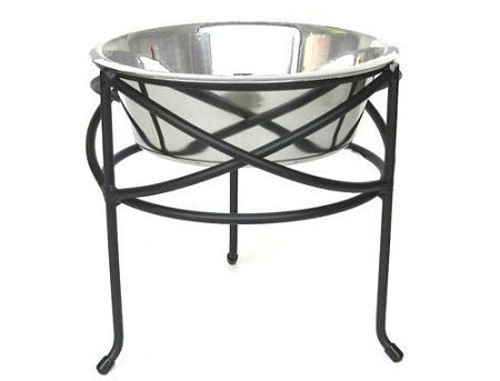 Medium Mesh Elevated Dog Bowl