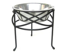 Large Mesh Elevated Dog Bowl