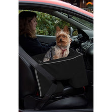 Black Large Dog Booster Car Seat