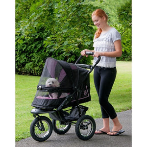 Rose NV No-Zip Pet Stroller