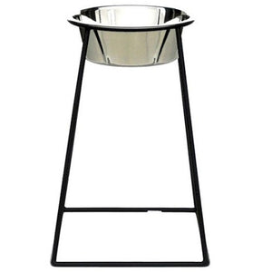 Tall Elevated Pyramid Dog Feeder