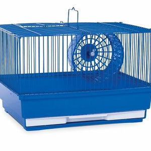 Blue Single Storey Hamster Cage