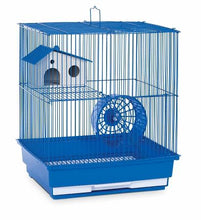 Green Two Storey Hamster & Gerbil Cage