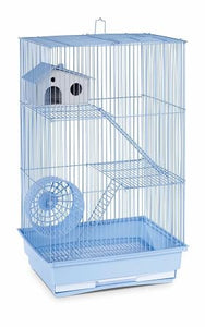 Lilac Three Storey Hamster & Gerbil Cage