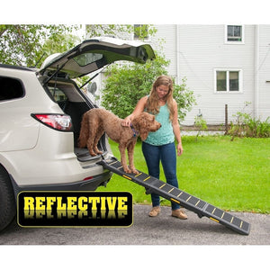 Tri-Fold Travel Lite Reflective Pet Ramp