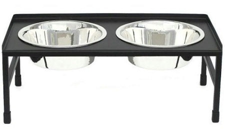 Large Tray Top Elevated Dog Bowl