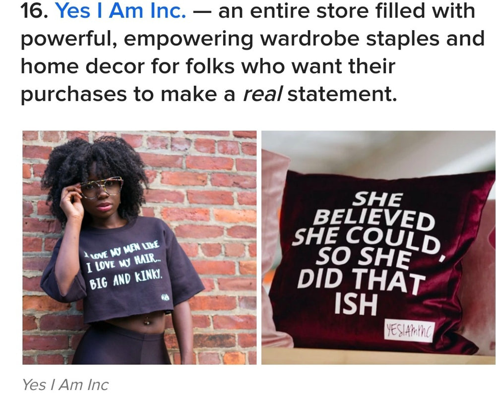 BUZZFEED FEATURES YES I AM- AGAIN!