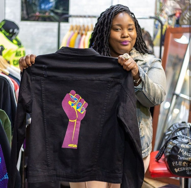 YES I AM Clothing is featured in BLACK GIRLS CREATE!