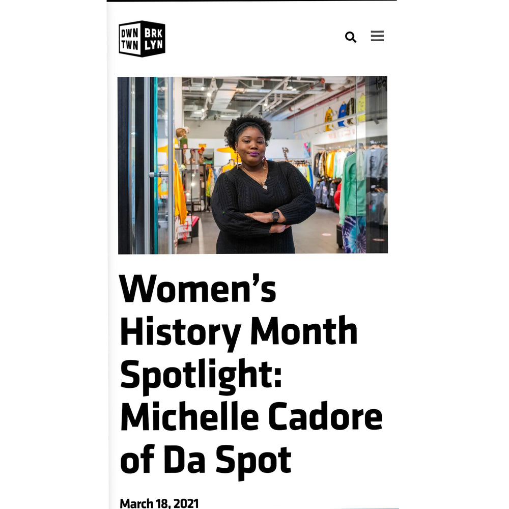 DOWNTOWN BROOKLYN - WOMEN'S HISTORY MONTH SPOTLIGHT