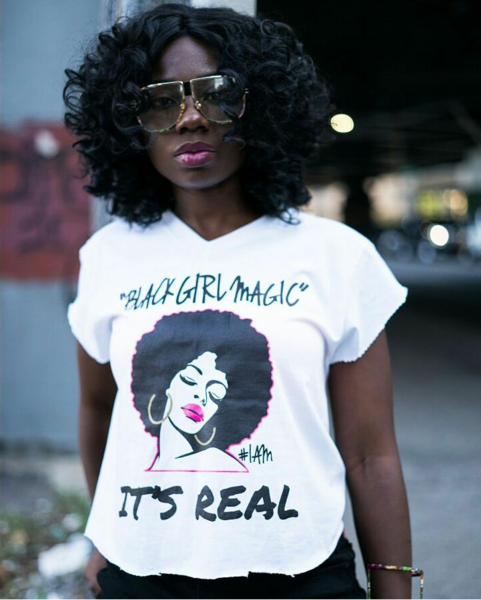 STYLECASTER features YES I AM Clothing in their Black Girl Magic Gift Guide