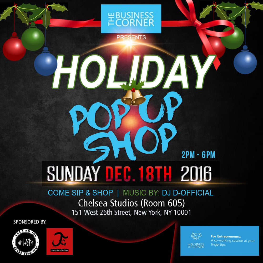 YES I AM INC - Holiday Pop Up Shop