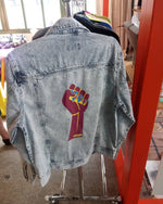 BOSS CHICK DENIM JACKET - YESIAMINC