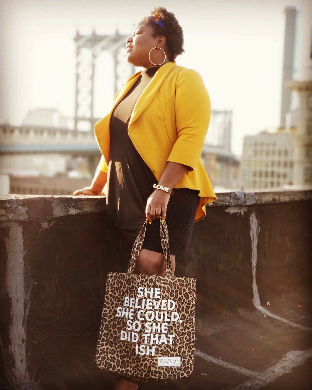 SHE DID THAT ISH TOTE - YESIAMINC