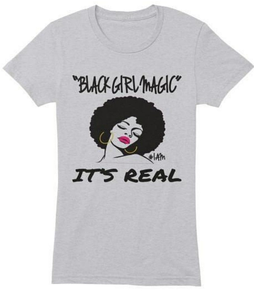 BLACK GIRL MAGIC Tee - YESIAMINC