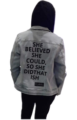 SHE DID THAT ISH JACKET - YESIAMINC