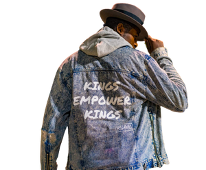 Kings Empower Kings DENIM JACKET - YESIAMINC