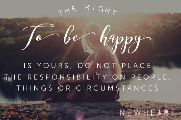 The Right to be Happy