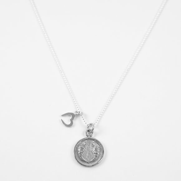 Blessed- Necklace Silver