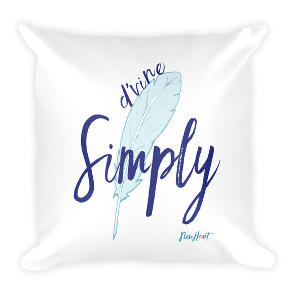 Simply D'vine Pillow