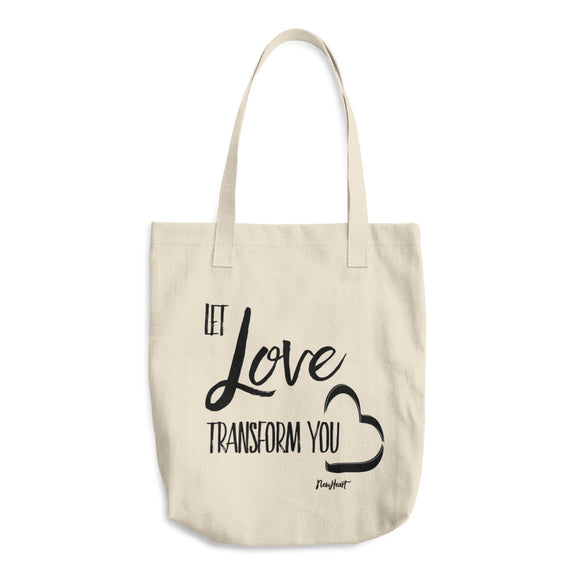 Let Love Transform You Bag
