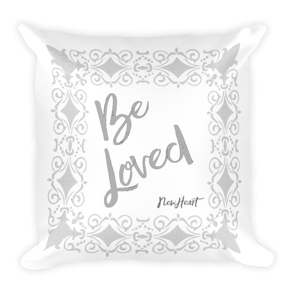 Be-Loved Silver Pillow