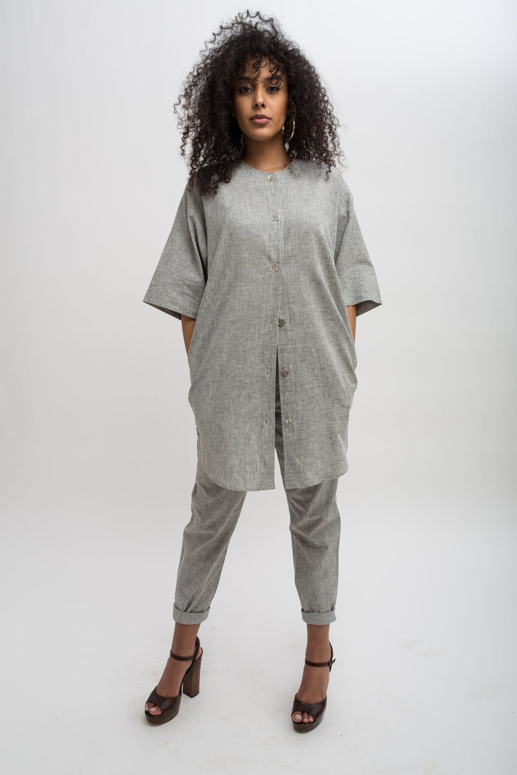 Nimmo Tunic Jacket - Hemp/Organic Cotton