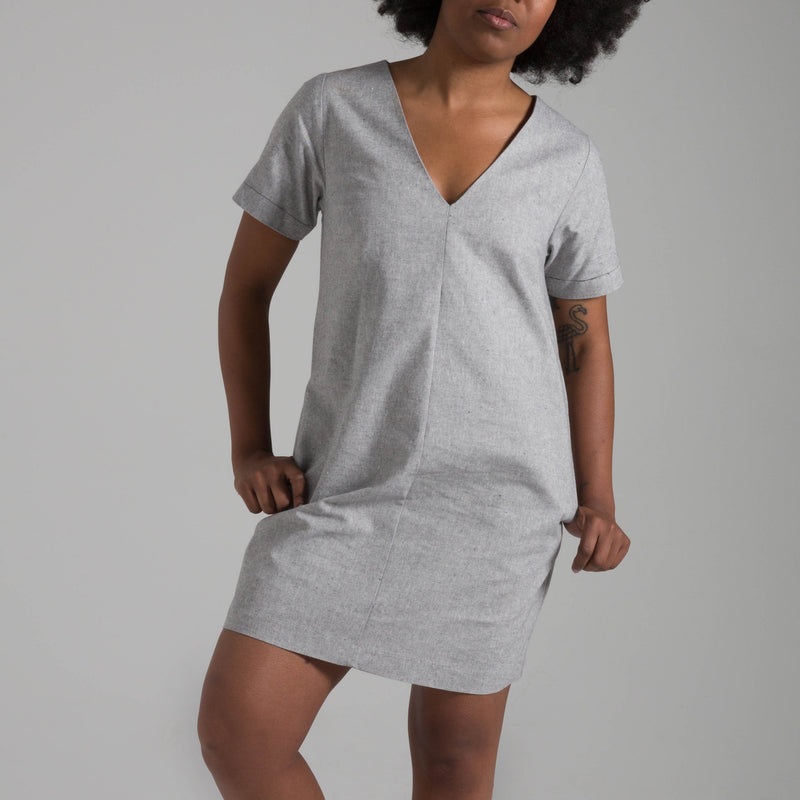 Denim Grey Verona Tunic/Dress