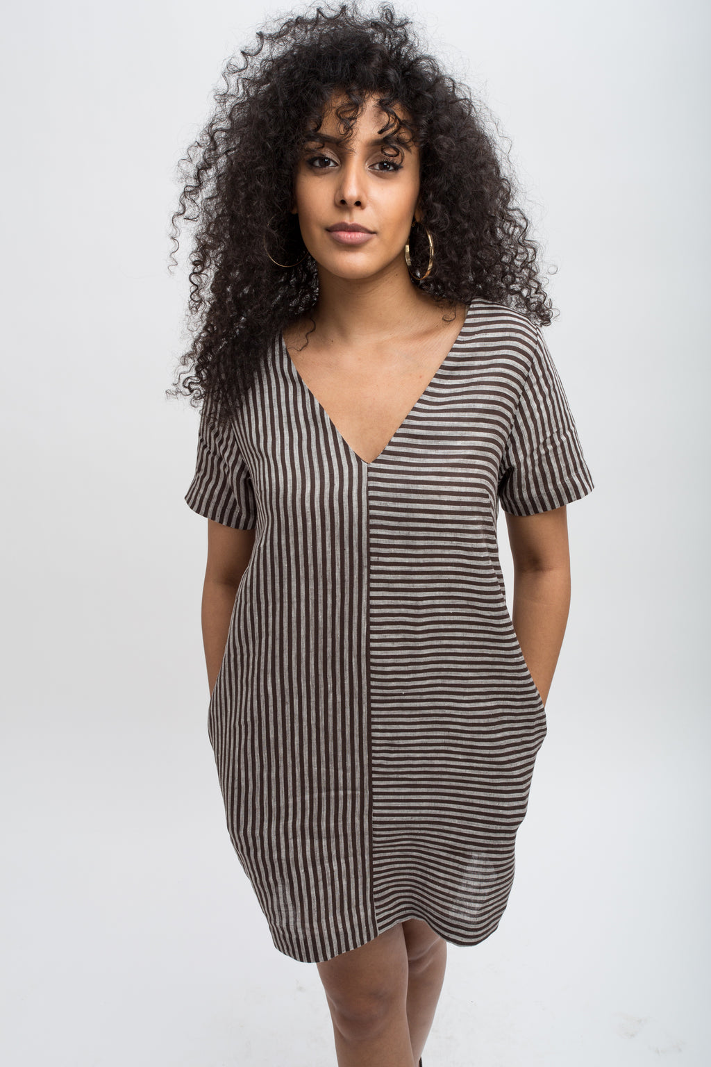 Verona Tunic/Dress - Grey Coal