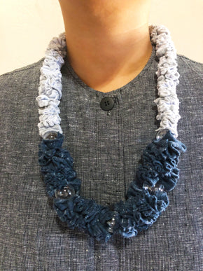 Zero Waste Necklace - Glass Bubble Leis
