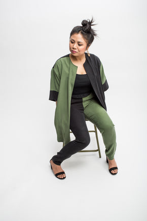 Nimmo Wrap Jacket - Tencel