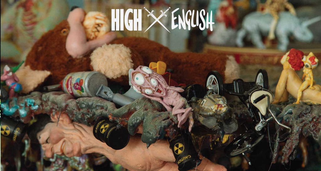 HIGH X RON ENGLISH = POPAGANJA
