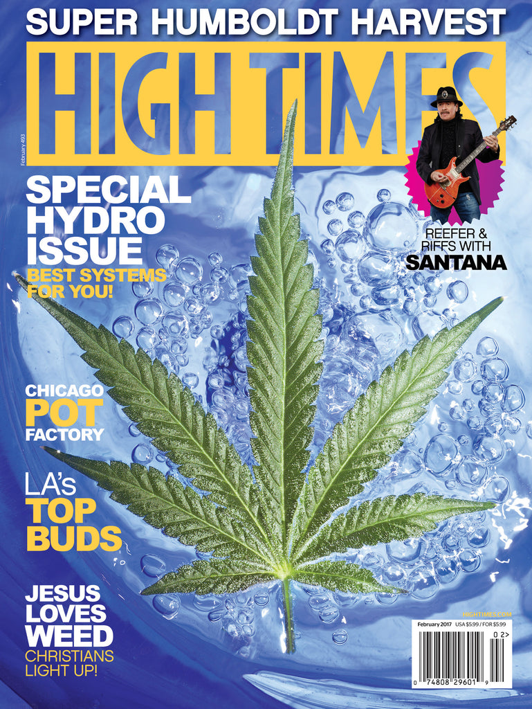 HIGH TIMES Magazine February 2017 - Issue 493