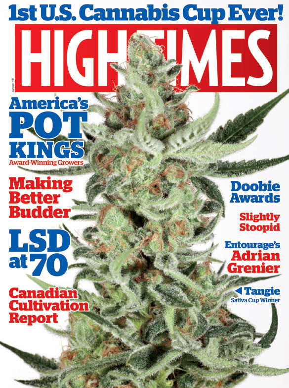 HIGH TIMES Magazine August 2013 - Issue 451