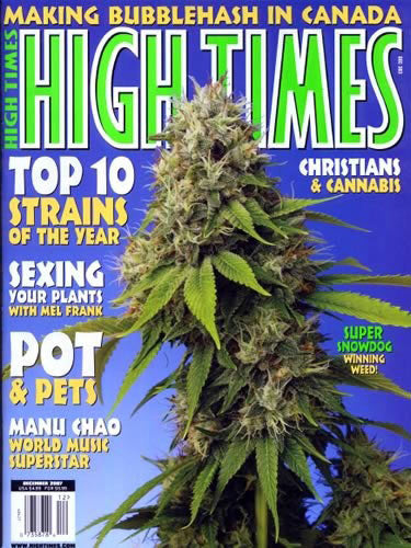 HIGH TIMES Magazine December 2007 - Issue 383