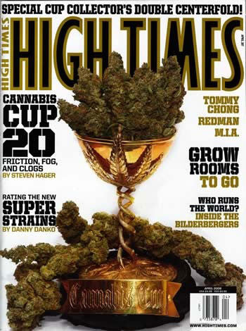 HIGH TIMES Magazine April 2008 - Issue 387
