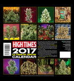 2017 Grown Calendar Back