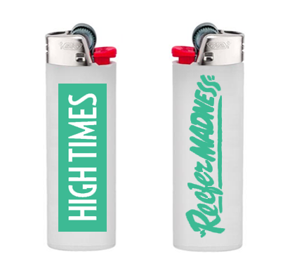 Free Shipping-- REEFER MADNESS LIGHTER - GREEN