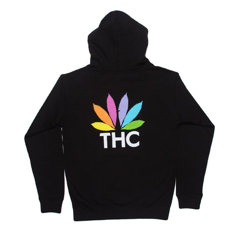 RON ENGLISH BLACK THC HOODIE