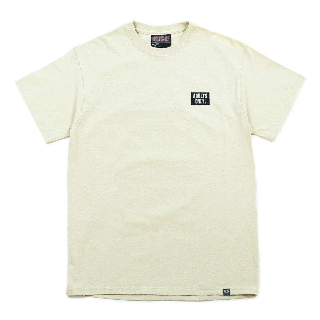 RON ENGLISH PEPE SHORT SLEEVE TEE - PUTTY